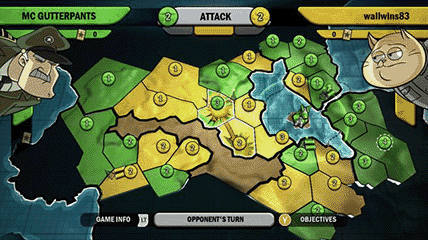 Risk Factions screenshot